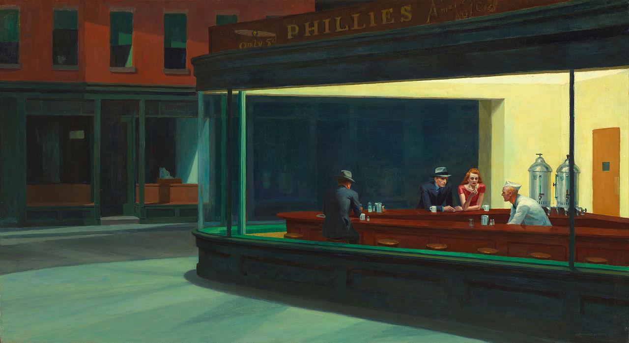 Profondo Rosso Nighthawks Edward Hopper